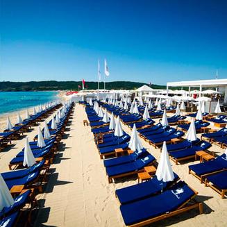 Bagatelle Beach St Tropez Menu