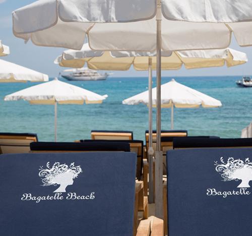 A Pampelonne Beach Restaurant