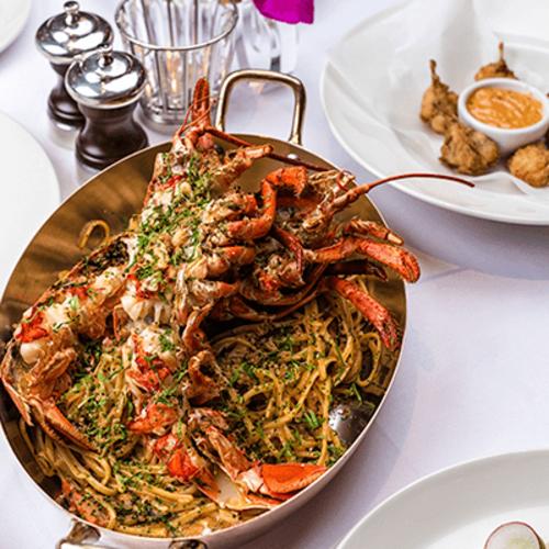Innovative Mediterranean cuisine