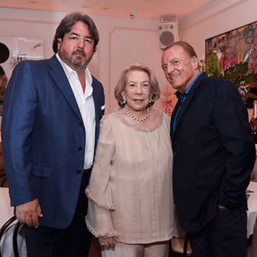 Armand Assante celebrated at Bagatelle Miami