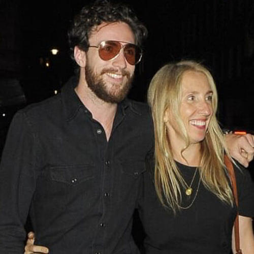 Sam Taylor Johnson puts on a loved-up display with husband Aaron