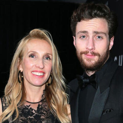 Aaron Taylor-Johnson & Wife Sam Step Out for Date Night in London!